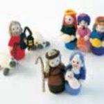 Knitted Nativity Scene free knitting pattern