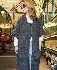Long vest free knitting pattern