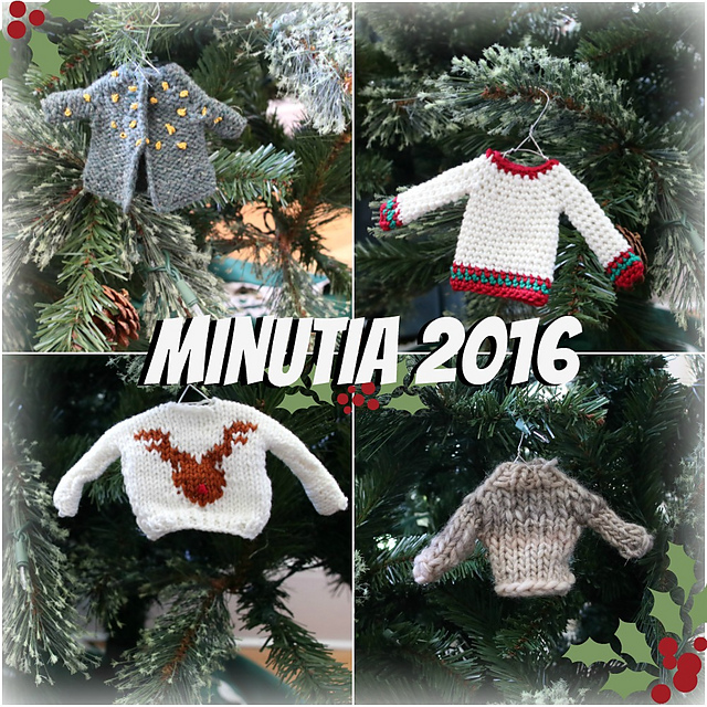 free free christmas tree ornaments knitting patterns