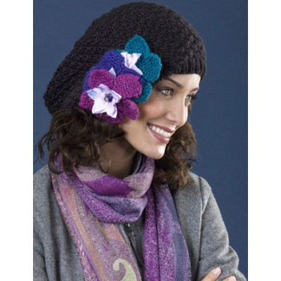 free slouchy hat knitting pattern for winter