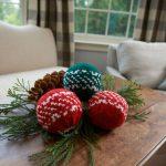 Nordic Holiday Balls Free Knit Pattern
