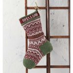 Northern Stocking Free Knitting Pattern