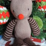 Oisin the Reindeer Free Knitting Pattern