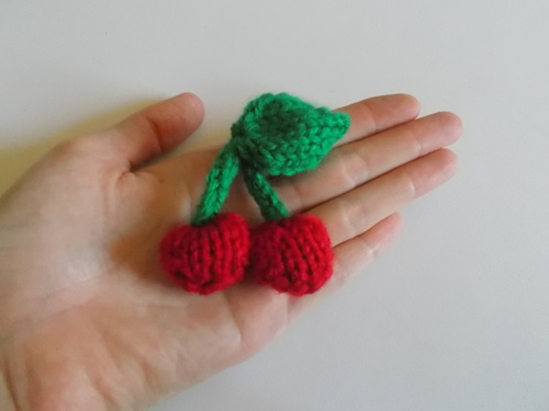 free cherry knitting pattern