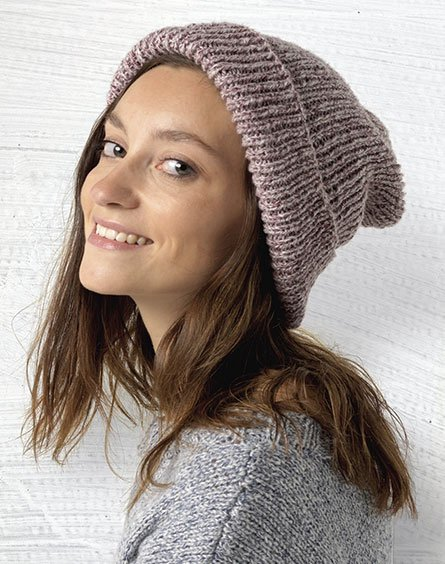 50 free easy hat knitting patterns for winter knitting bee passioknit daydream marle ribbed beanie simple style hat dt1010fo