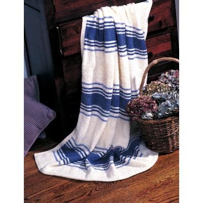 Patons Fresh Stripes Free knee rug pattern