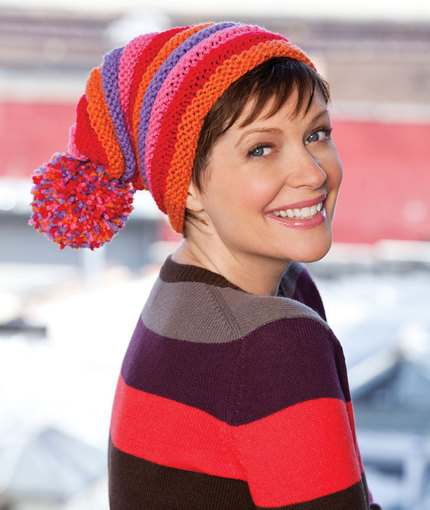 free winter hat knitting pattern