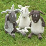 Sheep Toys Free Knitting Pattern