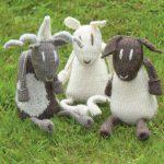 Sheep Toys Free Knitting Pattern