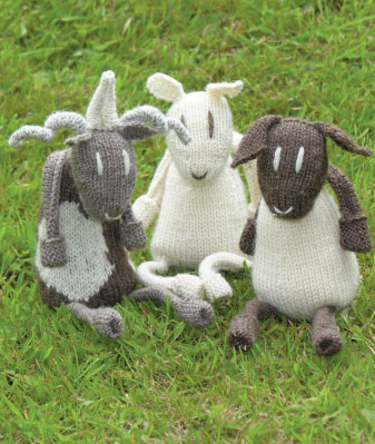Sheep Toys Free Knitting Pattern Knitting Bee