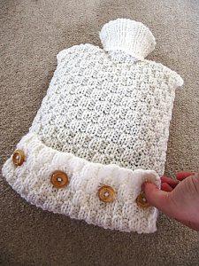 hot water bottle free knitting pattern