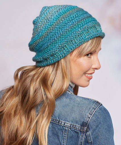 Simple Style Hat free knitting pattern