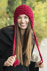 bulky knit earflap hat pattern free
