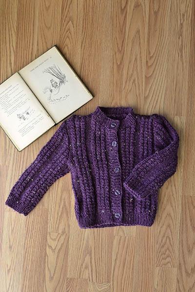 free baby cardigan knitting pattern