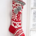 Sweet Treasures Fair Isle Stocking Knit Pattern