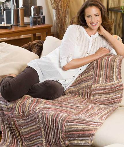 Free Knitting Patterns for Knee Rugs