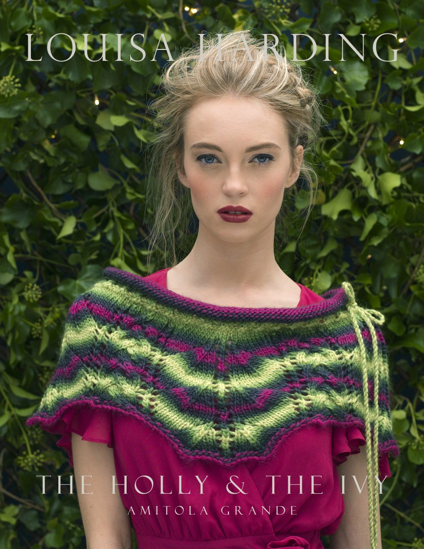 The Holy & The Ivy Free Lace Cowl Knitting Pattern