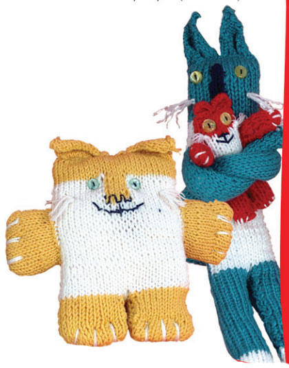 There Are Cats in This Book Free Knitting Pattern