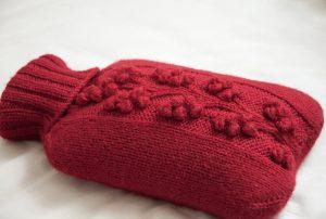 Winterberry Hot Water Bottle Free Knitting Pattern