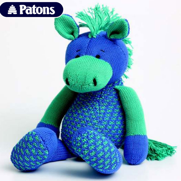 Free Toy Horse Knitting Pattern ⋆ Knitting Bee