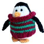 Mini Penguin Knitting Pattern