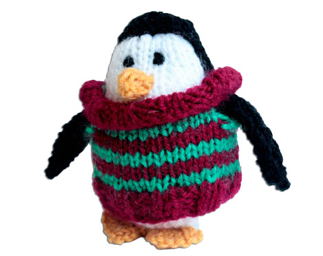 Mini Penguin Knitting Pattern