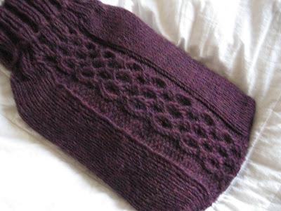 25 Knitting Pattern Hot Water Bottle Cover ⋆ Knitting Bee