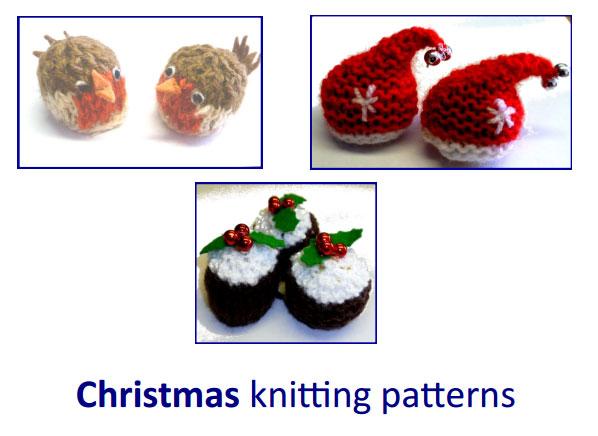 free Xmas patterns to knit