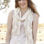 lace scarf knit pattern free