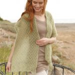 Breath of Spring Free Lace Scarf Knitting Pattern