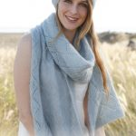 Cascade Free Lace Scarf and Hat Knitting Pattern