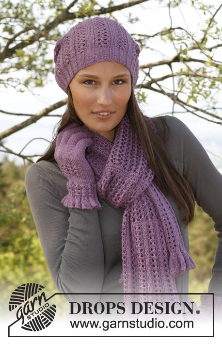 Free Hat Gloves And Scarf Knitting Pattern Set Patterns Knitting