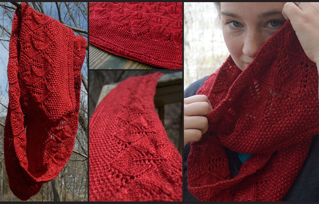 Free Free Lace Leaf Stitch Scarf Knitting Patterns Patterns