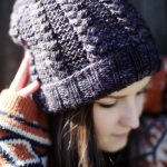 Hipster Sister Braided Beanie Knit Pattern