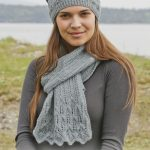 Lake District Free Lace Scarf and Hat Knitting Pattern
