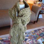 Leaf – Free Pattern for a Knit Scarf
