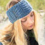 Macaron Headband Free Knit Pattern