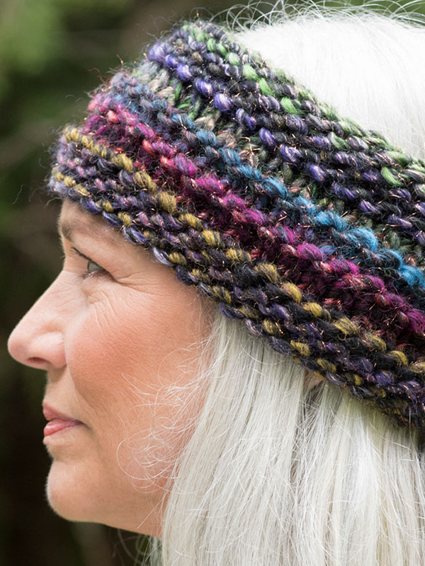 Quinoa Knitted Headband Free Pattern