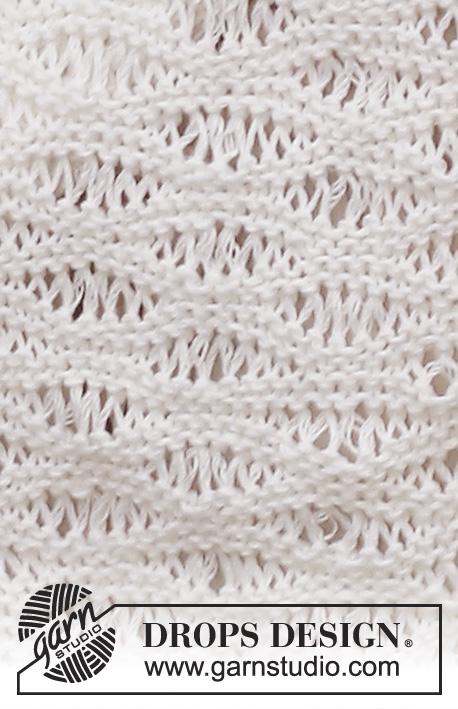 Seafoam Stitch Scarf Knitting Pattern Free