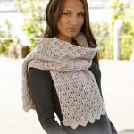 Soft Magnolia lace Scarf Knitting Pattern Free