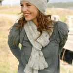 Sweet Caroline Free Lace Scarf and Hat Knitting Pattern
