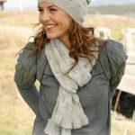 Sweet Caroline Free Lace Scarf and Hat Knitting Pattern
