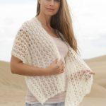 Zephyr Free Lace Stitch Scarf Knitting Pattern