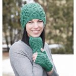Brigid Hat and Mitts Free Cable Knit Pattern Download