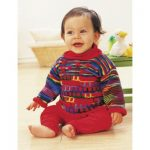 Patons Sweet Red Tunic Free knitting pattern