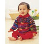 Patons Sweet Red Tunic Free knitting pattern