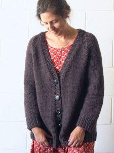 Seamless Free Cardigan Knitting Pattern