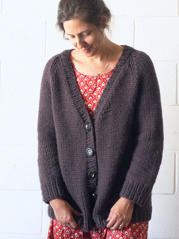 Estuary Two Toned Cardigan Free Knitting Pattern for Women ...