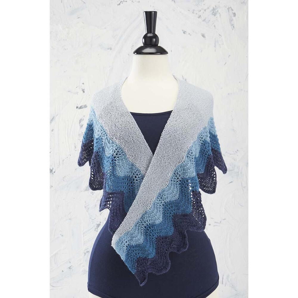 Superior Waves Shawl Free Download