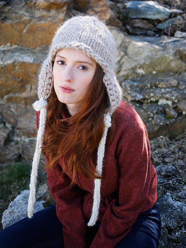 Earflap Hat Knitting Pattern Bulky Yarn : New Knitting Patterns on Knitting Bee